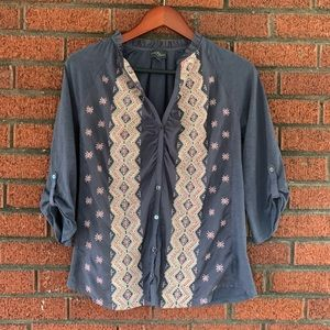 Market & Spruce Career Top Size Small